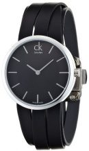 Calvin Klein Analog Quarz Leder Damen-Armbanduhr K2R2M1C1