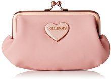 LollipopsHeart Frame - Portafogli Donna, rosa (Rosa (Pink)), 1x10x14 cm (W x H x L)