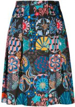 Ps By Paul Smith - Gonna a pieghe - women - Polyester - 40 - BLACK