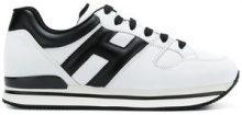 Hogan - Sneakers - women - Calf Leather/Nylon/Leather/rubber - 38.5, 40, 36, 38 - WHITE