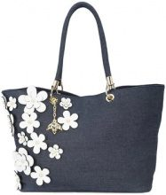 Christian Siriano - floral tote bag - women - Polyester - OS - BLUE