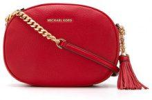Michael Michael Kors - Ginny medium crossbody bag - women - Leather - OS - RED