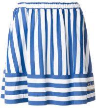Love Moschino - Minigonna a righe - women - Polyester/Viscose/Aluminium - 40, 42, 38 - BLUE