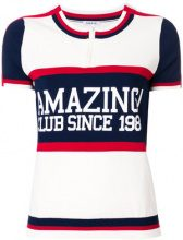P.A.R.O.S.H. - Runner zipped T-shirt - women - Polyamide/Spandex/Elastane/Viscose - XXS, XS - WHITE