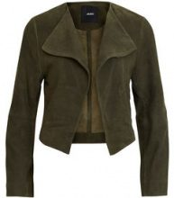 OBJECT COLLECTORS ITEM Soft, Suede Blazer Women Grey
