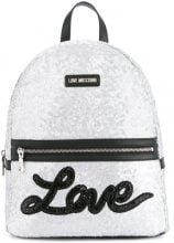 Love Moschino - Zaino glitter - women - Sequin/Polyurethane - One Size - METALLIC