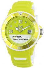 Ice-Watch Pantone PAN.BC.SUS.U.S.13 - Orologio da polso unisex, cinturino in caucciù colore giallo