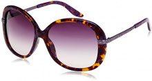 Just Cavalli - JC418S, Occhiali Da Sole donna, Marble Violet Orange, One size (Taglia produttore:59)