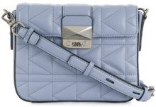 Karl Lagerfeld - K/Kuilted New mini crossbody bag - women - Leather - One Size - BLUE