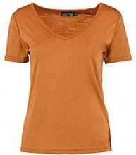 Ruby Basic Supersoft V Neck Tee