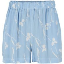 Y.A.S Floral Shorts Women Blue
