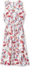 Cortefiel Vestido Cruzado Midi, Vestito Donna, Multicolore (Several), XL