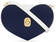 Niels Peeraer - Borsa a cuore - women - Leather - OS - WHITE