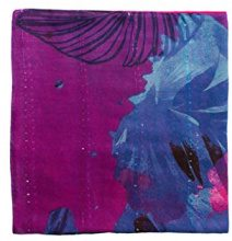 Desigual Foulard_corel Rectangle, Sciarpa Donna, Rosso (Purple Potion 3070), Taglia unica (Taglia Produttore: U)