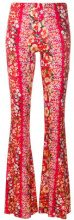 Black Coral - Pantaloni 'Alba' - women - Viscose/Spandex/Elastane - One Size - RED