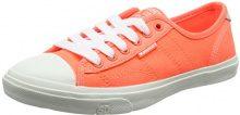 Superdry Low Pro, Sneaker Infilare Donna, Arancione (Fluro Coral), 39 EU