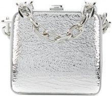 The Volon - Clutch con catena - women - Cotone/Leather - One Size - METALLIC