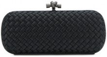 Bottega Veneta - Clutch - women - Silk/Viscose/metal - OS - BLACK