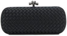 Bottega Veneta - Clutch - women - Viscose/Silk/metal - One Size - BLACK