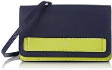 Le Tanneur Coquette Tcq1230 - Borse a tracolla Donna, Blu (Crépuscule), 8x14x20,5 cm (W x H L)