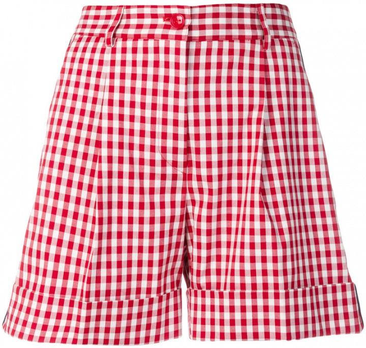 P.A.R.O.S.H. - Shorts a quadretti - women - Cotone Polyurethane - XS ... d5284304319