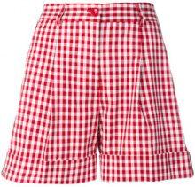 P.A.R.O.S.H. - Shorts a quadretti - women - Cotton/Polyurethane - XS, S - RED