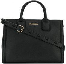 Karl Lagerfeld - Borsa tote 'Klassik' - women - Calf Leather - OS - BLACK