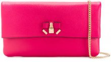 Michael Michael Kors - Clutch 'Everly' - women - Leather - OS - PINK & PURPLE