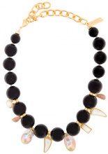 Lizzie Fortunato Jewels - Evora necklace - women - Gold Plated Brass/Pearls - One Size - Nero