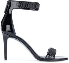 Kendall+Kylie - Mia sandals - women - Leather/Polyurethane/rubber - 36, 37, 37.5, 38, 39, 40 - BLACK