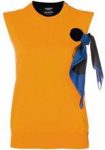 Calvin Klein 205W39nyc - Top con nodo - women - Cotton/Cashmere/Wool - S, M, XS - BLUE