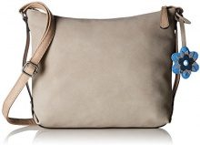 s.Oliver (Bags) 39.804.94.3261 - Borse a spalla Donna, Beige (Atmosphere), 4x24x29 cm (B x H T)