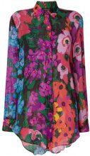 Twin-Set - Blusa a maniche lunghe - women - Viscose/Madre di Pearl - 40, 42 - MULTICOLOUR
