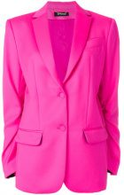 Styland - V-neck buttoned blazer - women - Virgin Wool/Silk - S - PINK & PURPLE