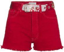 Beau Souci - Shorts in denim - women - Cotton - 34, 38, 40, 42 - RED
