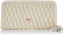 Jane Shilton Crystal - Quilted Zip,  Bianco Avorio