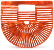 Cult Gaia - Borsa clutch mini 'Acrylic Ark' - women - Acrylic - One Size - Rosso