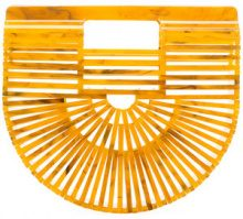 Cult Gaia - Ark clutch - women - Acrylic - OS - YELLOW & ORANGE