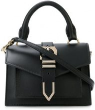 Versus - buckle detail tote - women - Calf Leather - OS - BLACK