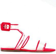 Valentino - Sandali 'Valentino Garavani' - women - Calf Leather/Leather/PVC/Velvet - 36, 37, 40, 41 - RED