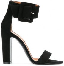 Via Roma 15 - ankle strap sandals - women - Suede/Leather - 35, 36, 37, 39, 40, 41 - BLACK
