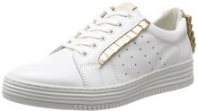 Bullboxer BULLBOXER420051e5l - Low-Top Donna, Bianco (Bianco), 40