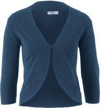 Bolero in maglia a mezza manica (Blu) - bpc bonprix collection