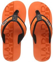 NAPAPIJRI FOOTWEAR Toledo, Infradito Uomo, Orange (Bright Orange), 42 EU