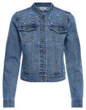 ONLY Detailed Denim Jacket Women Blue