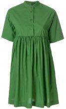 Woolrich - Miniabito svasato - women - Cotton - XS, S, L - GREEN