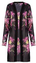 Shannon kimono in chiffon stampato