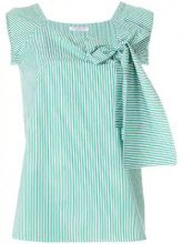 Vivetta - Canotta a righe - women - Cotton - 42, 44, 38, 40 - GREEN