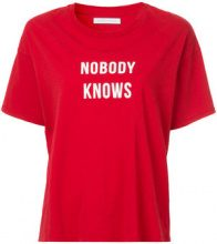 Nobody Denim - Nobody Knows Tee Flame - women - Cotton - M, L - RED