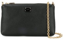 - Dolce & Gabbana - Borsa a spalla - women - pelle - Taglia Unica - di colore nero